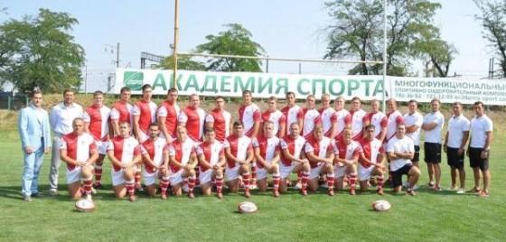 Вице-чемпионы Украины по регби, одесситы «КРЕДО-1963», презентовали новую форму