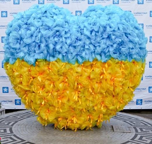 Одесское «Любящее Сердце» преобразилось: стало желто-голубым
