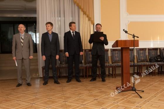 Одесские журналисты принимали знаки внимания (фото)