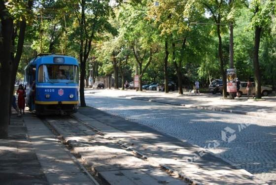 в Одессе уберут трамвай и