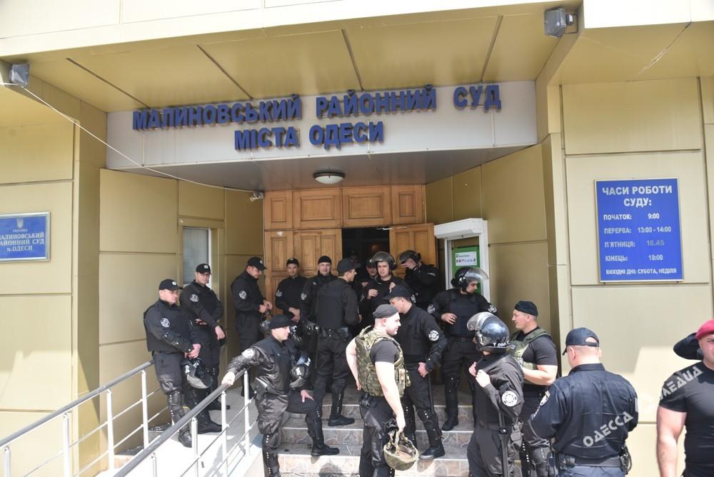 Неонацисты вОдессе устроили потасовки из-за судебного процесса по«делу 2мая»