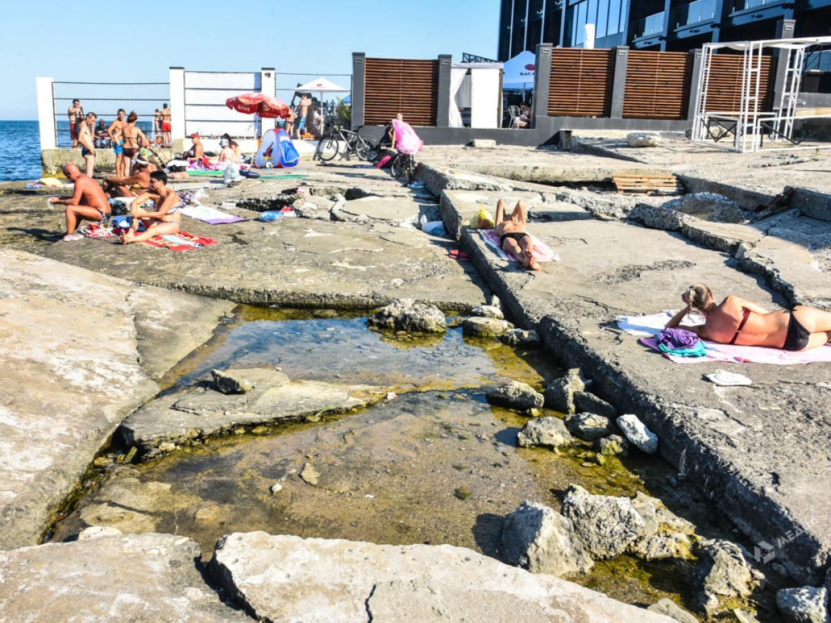 Фото одесских пляжей 2018