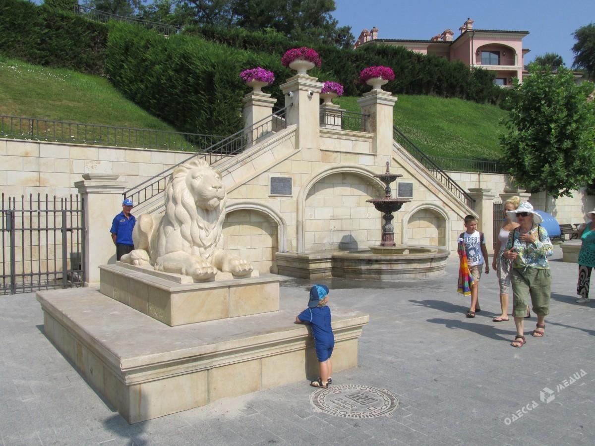 Одесса пляж большой фонтан фото