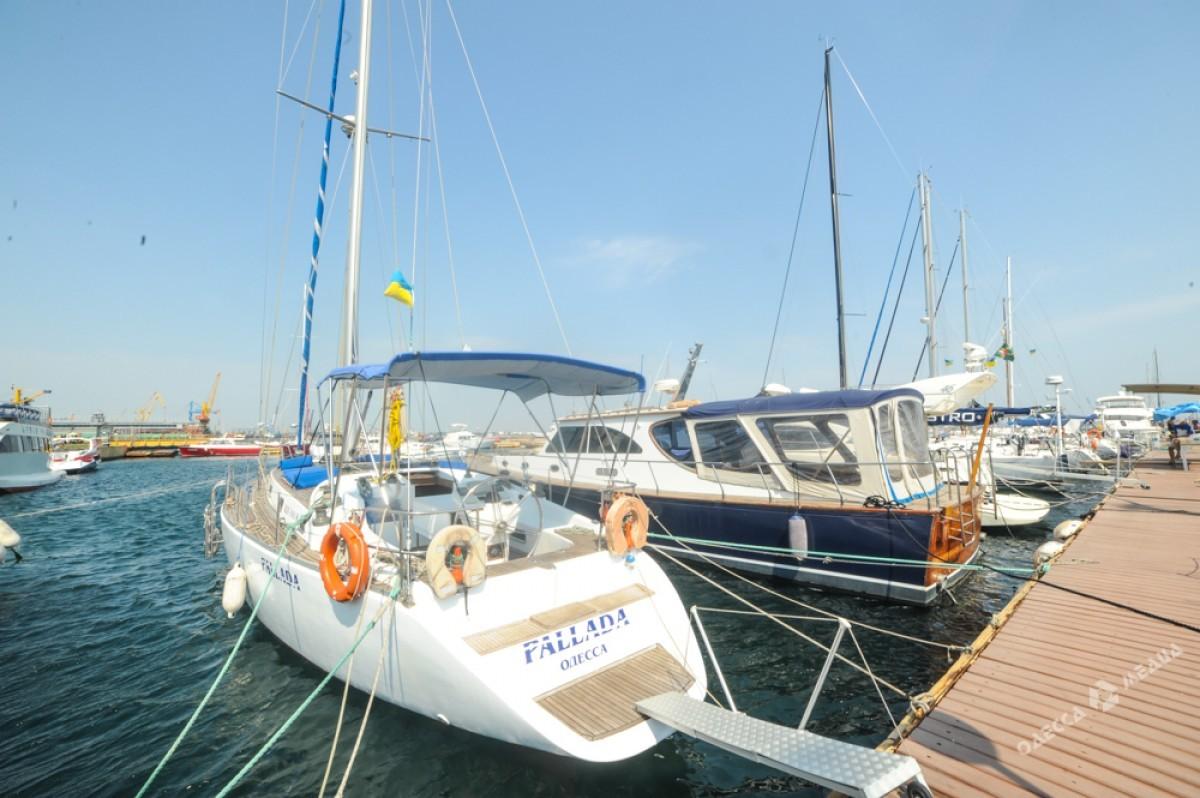 ВОдесском порту прошла церемония открытия парусного сезона «Кубок Черного моря»