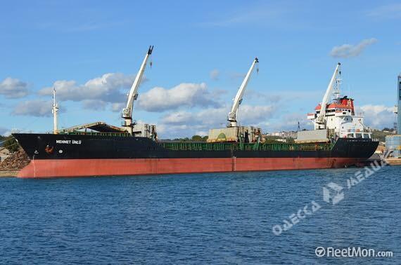 Впорту «Южный» экипаж захватил судно— Бунт ипоножовщина