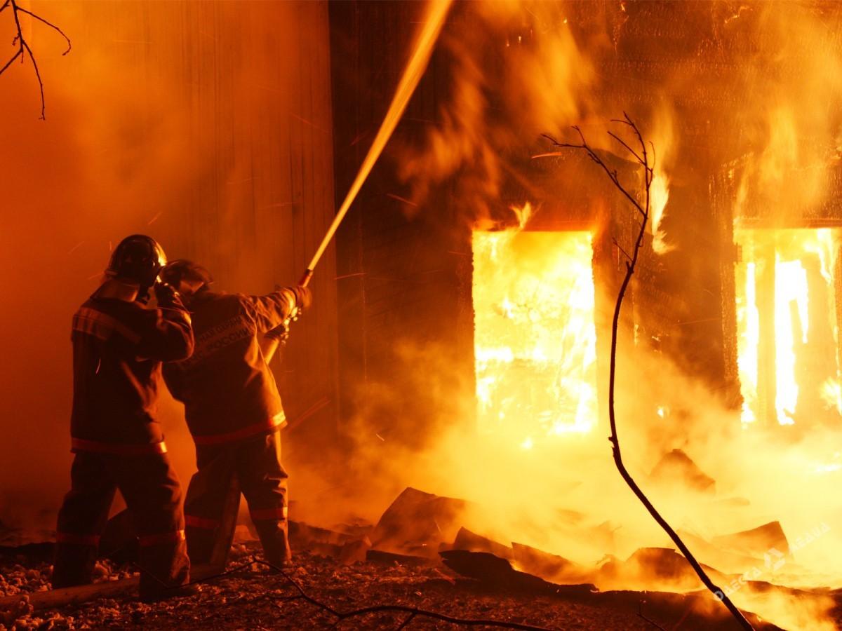 Впроцессе пожара вОдесской области пострадали четверо детей