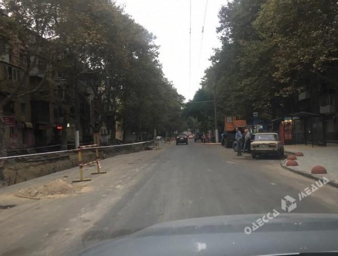 Сегедскую открыли для движения всторону центра Одессы