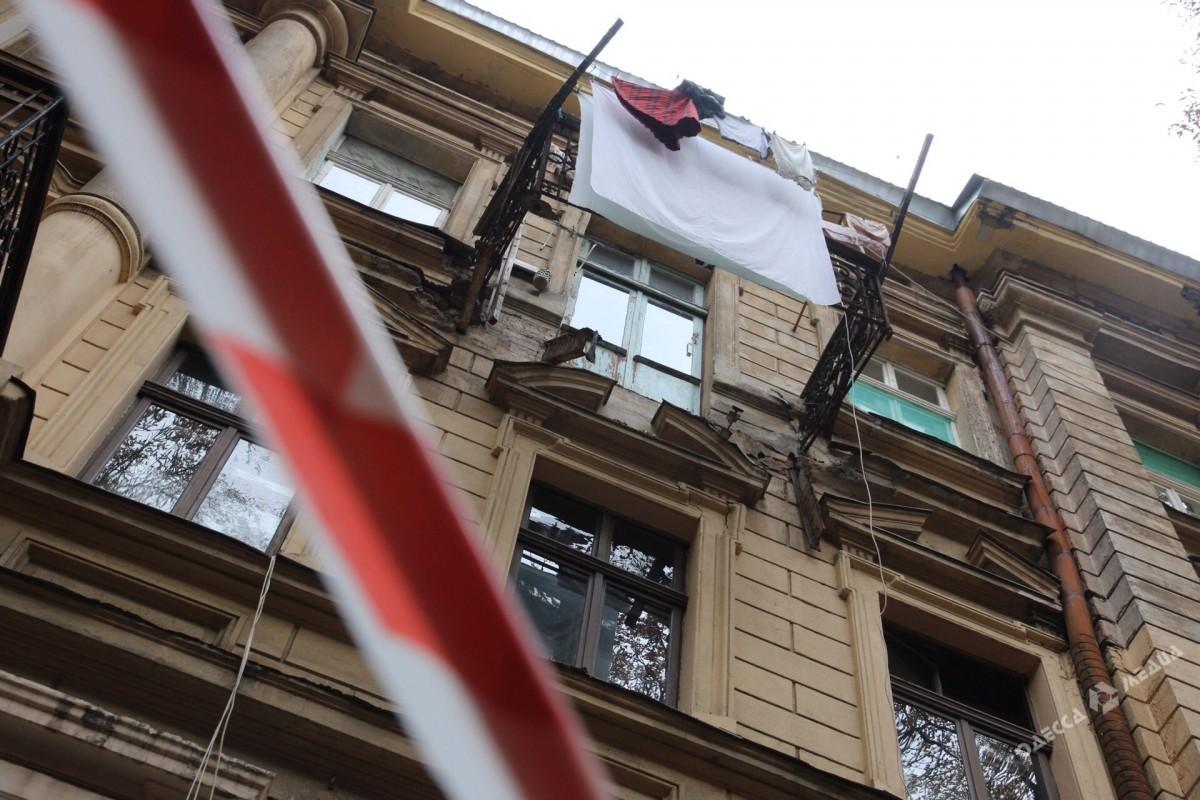 Одесситка, получившая травмы при обрушении балкона, скончалась
