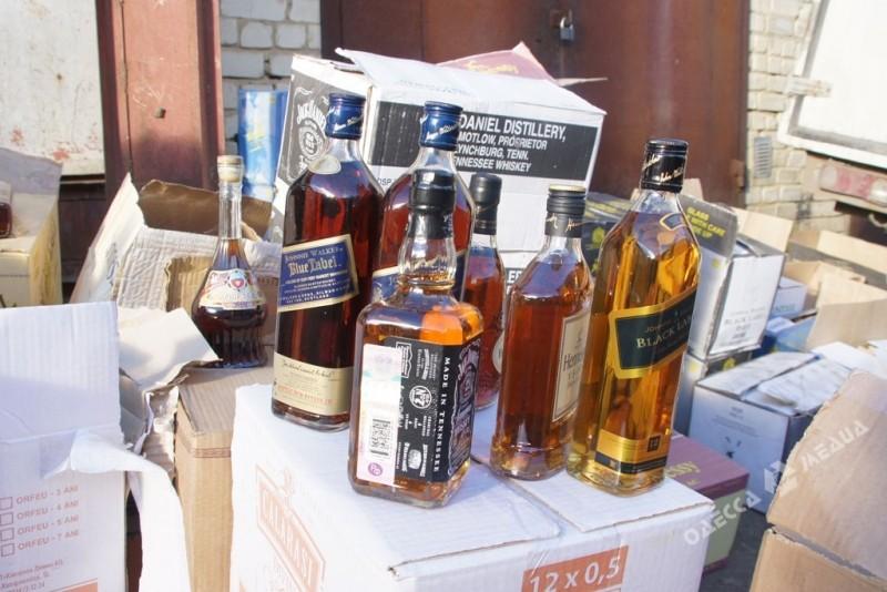 ВОдесской области найден цех попроизводству поддельного алкоголя элитных марок