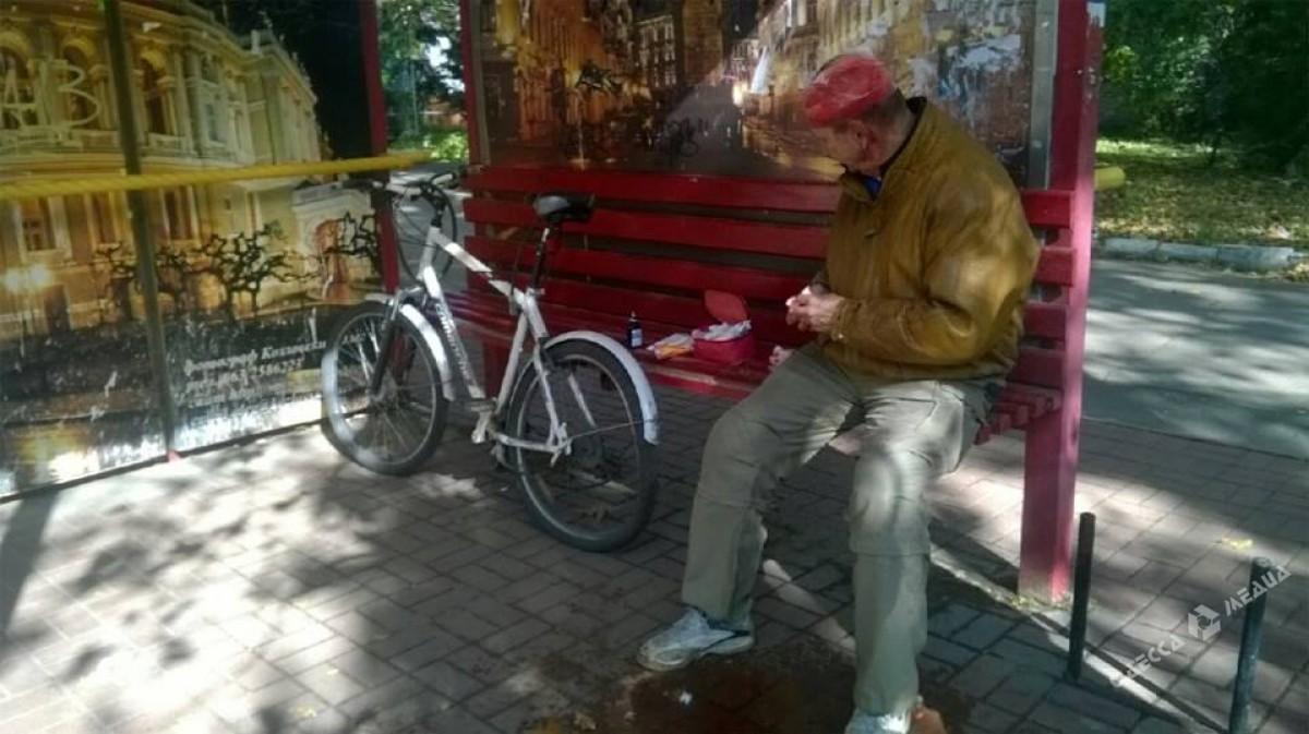 ВОдессе на«зебре» сбили велосипедиста