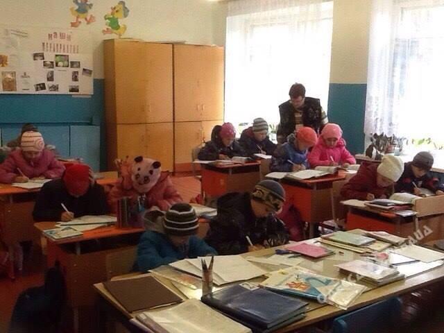 ВТеплодаре Одесской области десятки детей болеют из-за отсутствия отопления