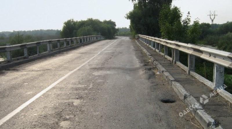 Мост натрассе «Одесса-Рени» дождался ремонта