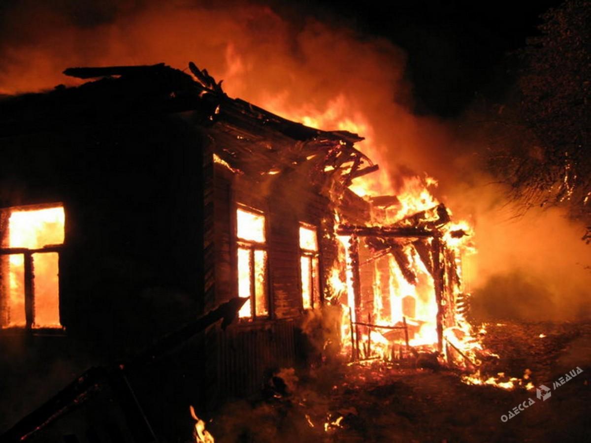 Напожаре вОдесской области погибла семья с 2-мя детьми