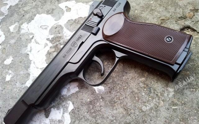 ВОдессе ребенок отыскал водворе пистолет