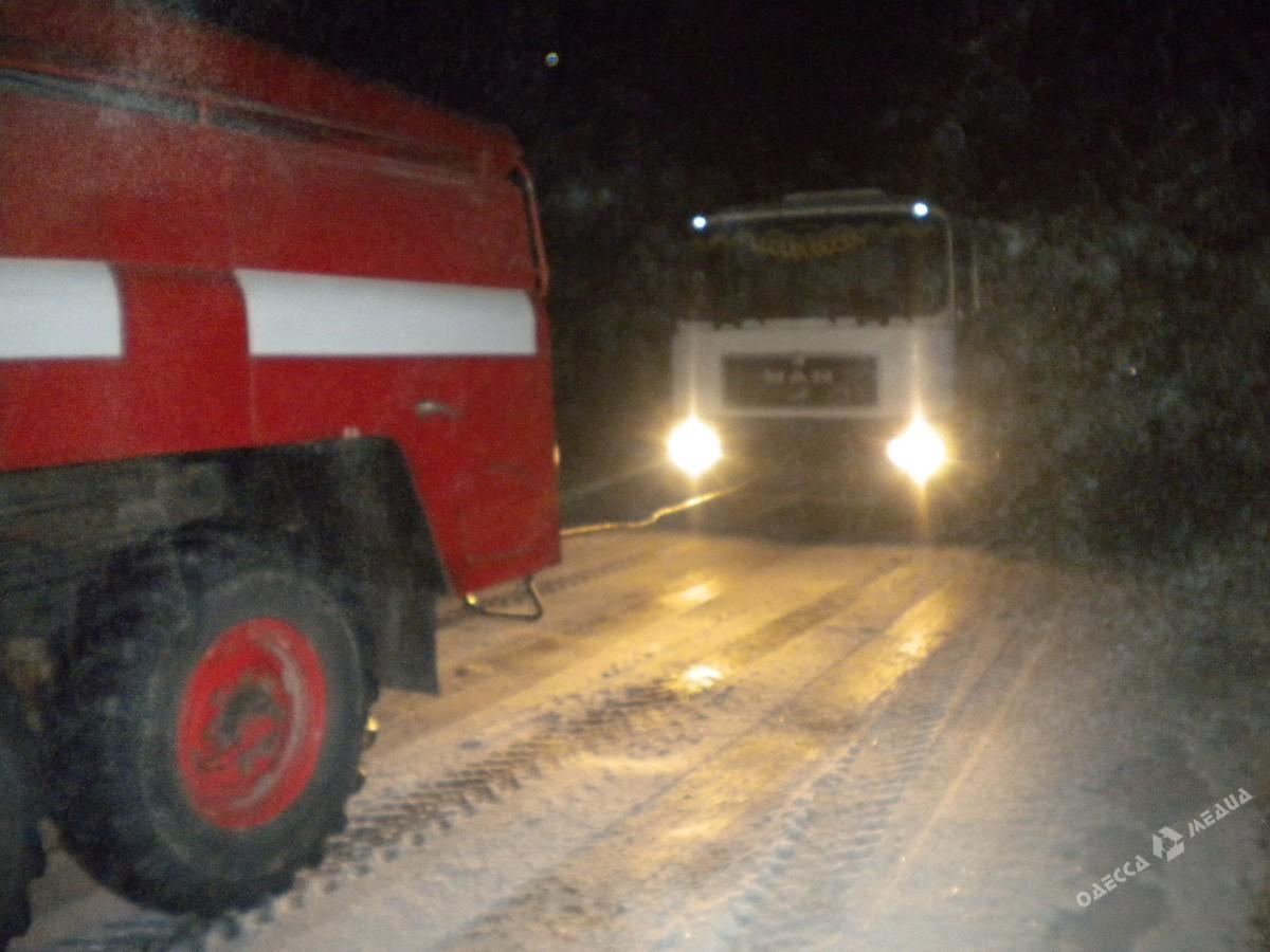 Непогода вОдесской области: автомобили сносит вкювет