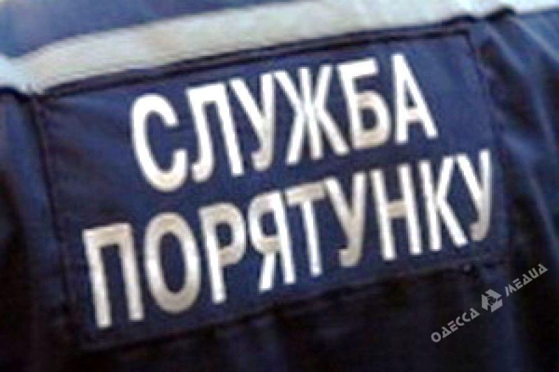 Натрассе Киев-Одесса зажегся грузовой автомобиль