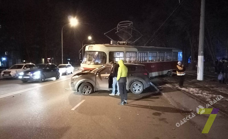 ВОдессе случилось серьезное ДТП страмваем: появились фото
