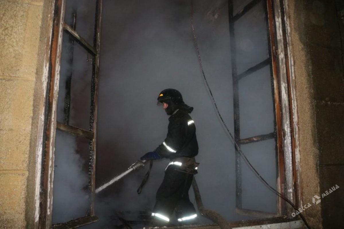 ВОдесской области произошел масштабный пожар