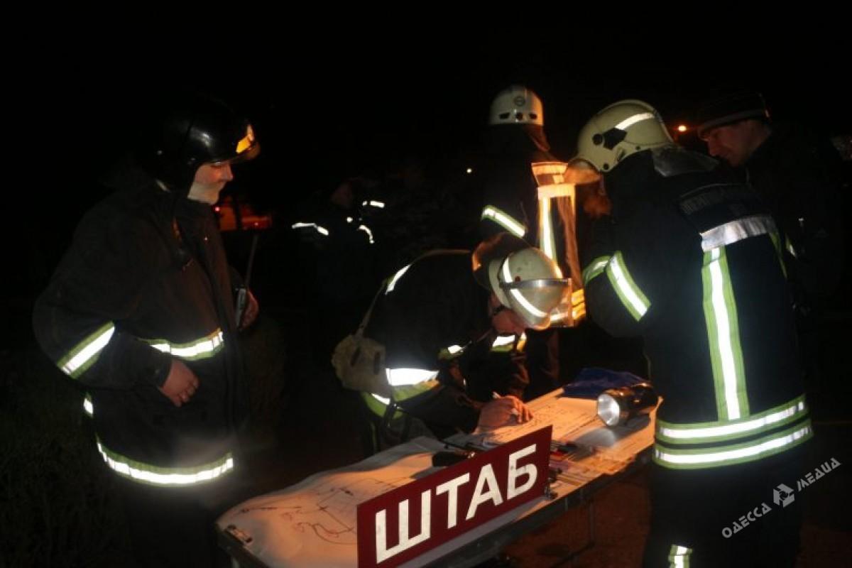 ВОдесской обл. горел Дом культуры