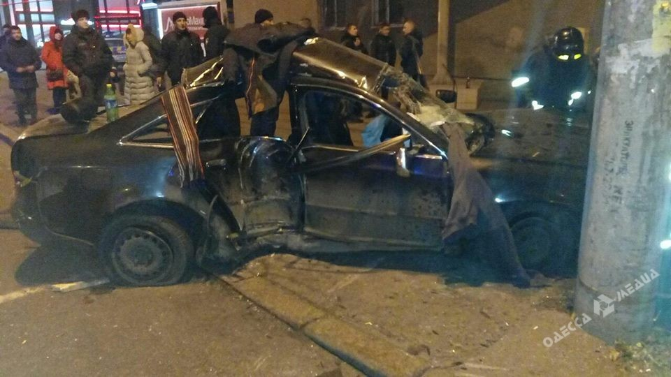 ВОдессе иностранцы на Audi иБМВ устроили ДТП спострадавшими