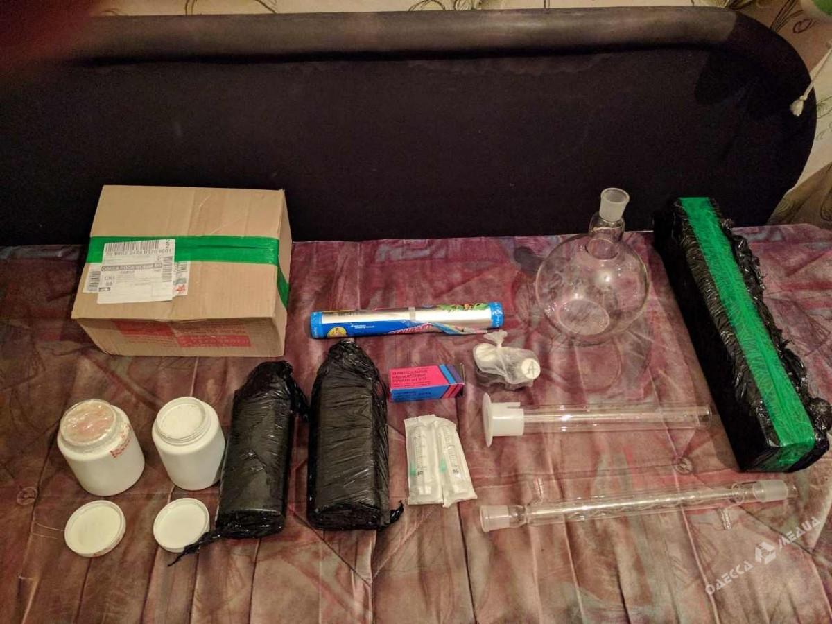 ВОдессу изЕвропы наркотики доставлялись помеждународной почте