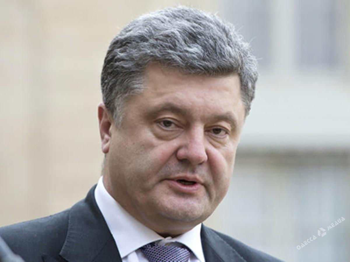 Президент Украины хочет посетить Одесскую область невзирая нанепогоду