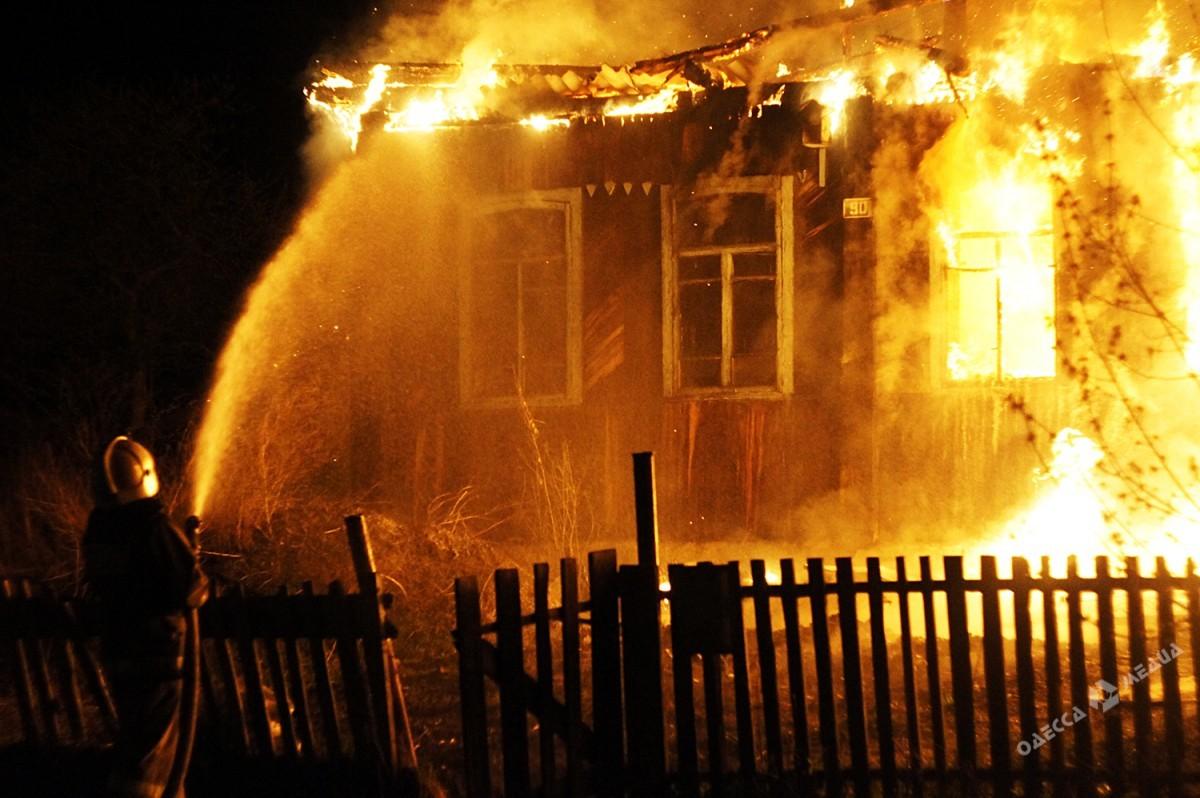 Пожар вОдесской области: дети имать вкрайне тяжелом состоянии
