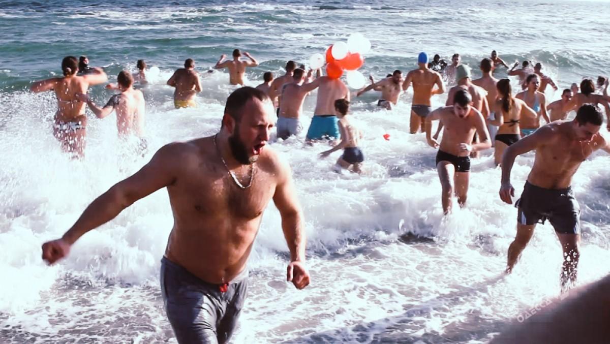 Как наЛанжероне национальный крещенский рекорд устанавливали