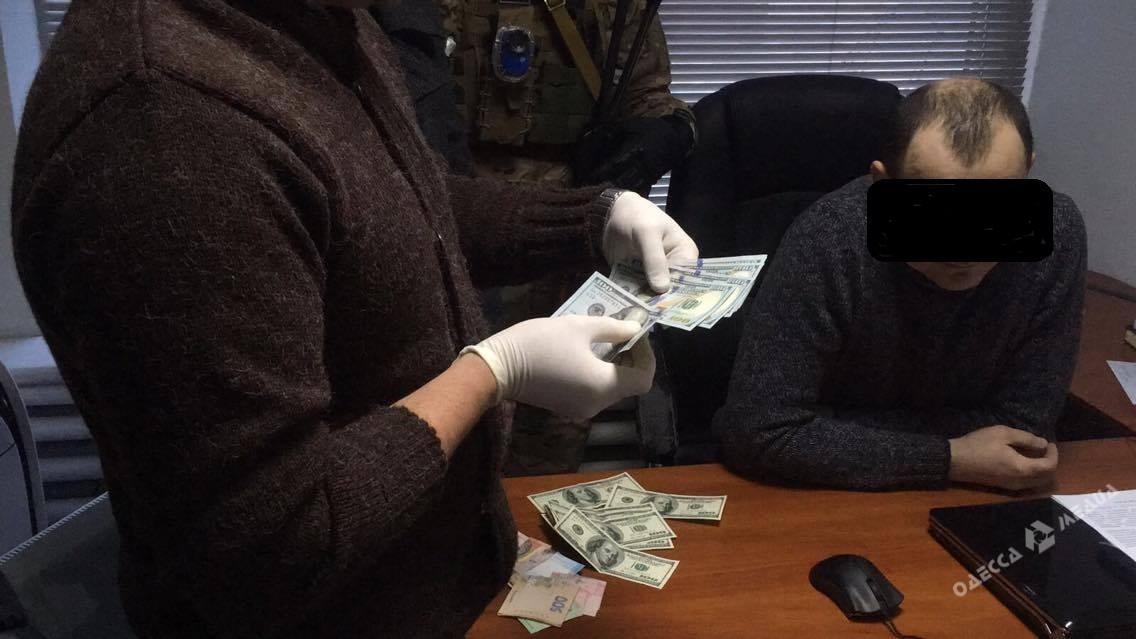ВОдессе заместитель начальника пограничного поста «погорел» навзятке