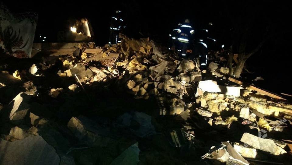 ВОдесской области взорвался дом