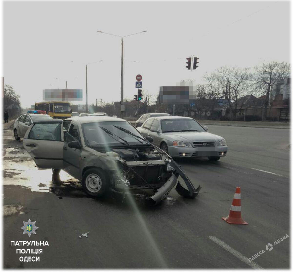 ВКрыжановке столкнулись два авто: пострадал 11-летний ребёнок