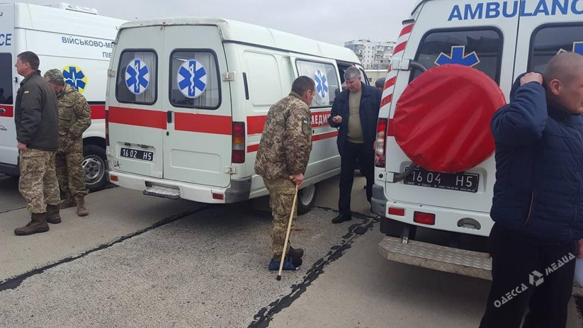 ВОдессу будут привезены 24 солдата, раненые вАТО