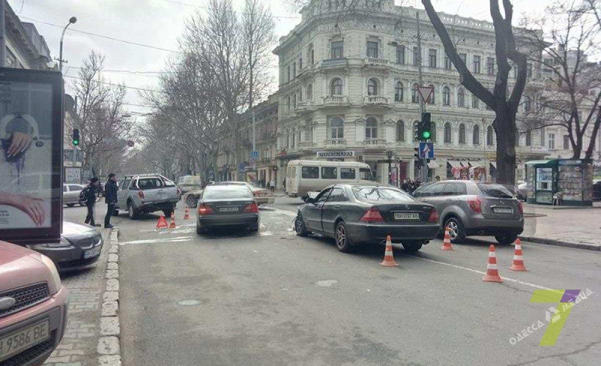 ДТП вцентре Одессы