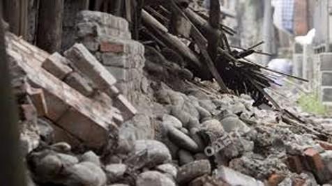ВОдесской области в итоге обрушения дома умер ребенок, очередной травмирован