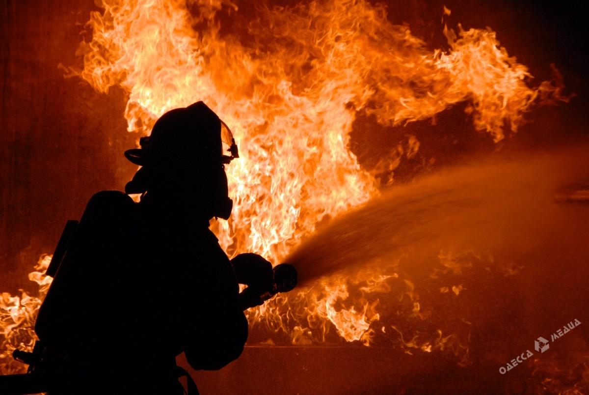 Мужчина умер впроцессе пожара вОдесской области