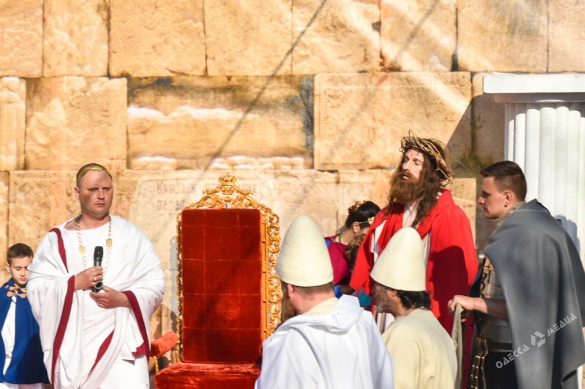 9d21c4e50826cac4769212b02ab90e08 Страсти Христовы: в Одессе прошла костюмированная пасхальная реконструкция