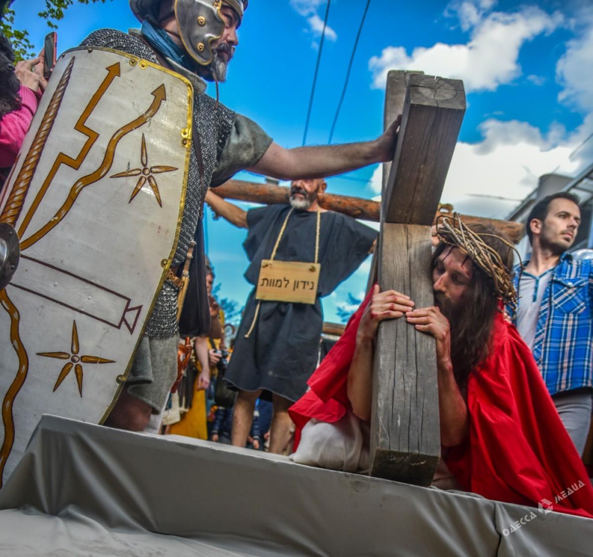 b792190c5b0dc7136078e4687bbfcf0a Страсти Христовы: в Одессе прошла костюмированная пасхальная реконструкция