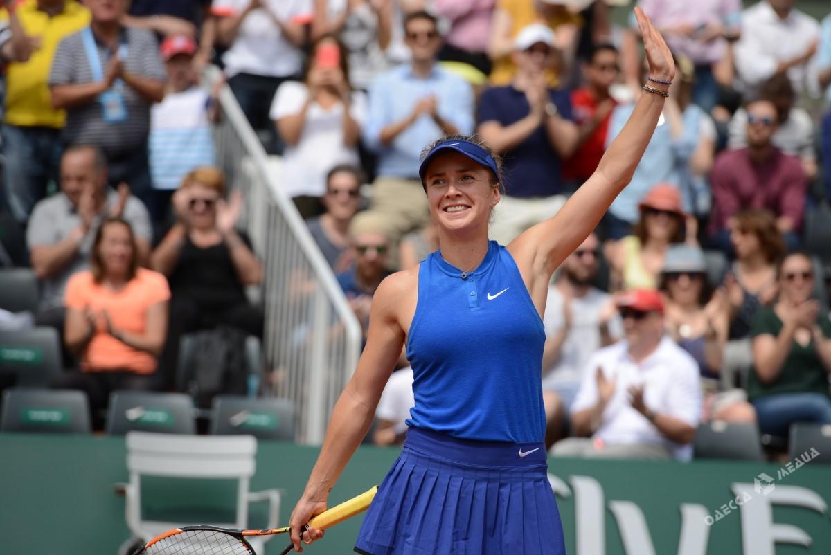 Свитолина вошла впятерку наилучших теннисисток мира