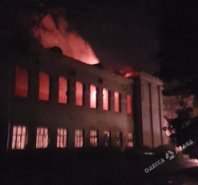 Впомещении Минобороны вОдессе произошел взрыв