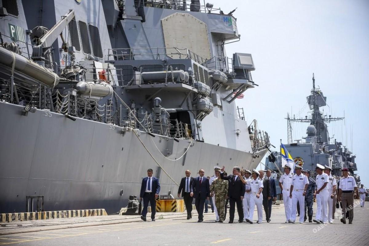 НАТО проводит на«полигоне Украина» учения «Морской бриз— 2017»