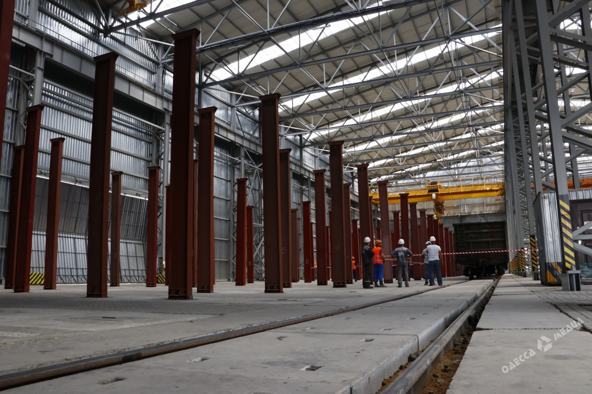 ТСиАрселорМиттал открыли новый перегрузочный комплекс