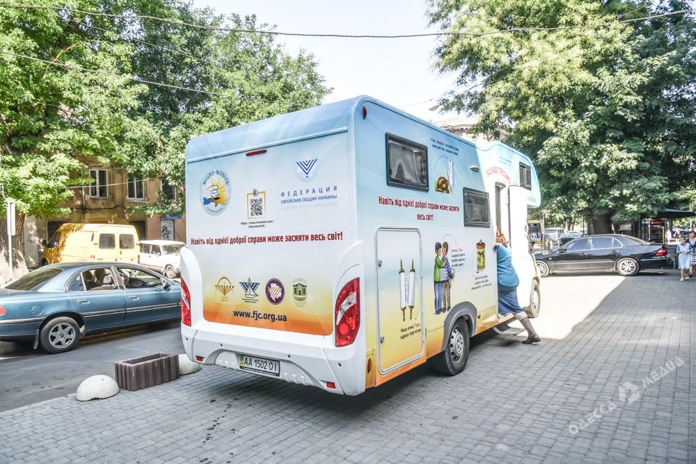 В Одессе появилась синагога на колесах (фото)
