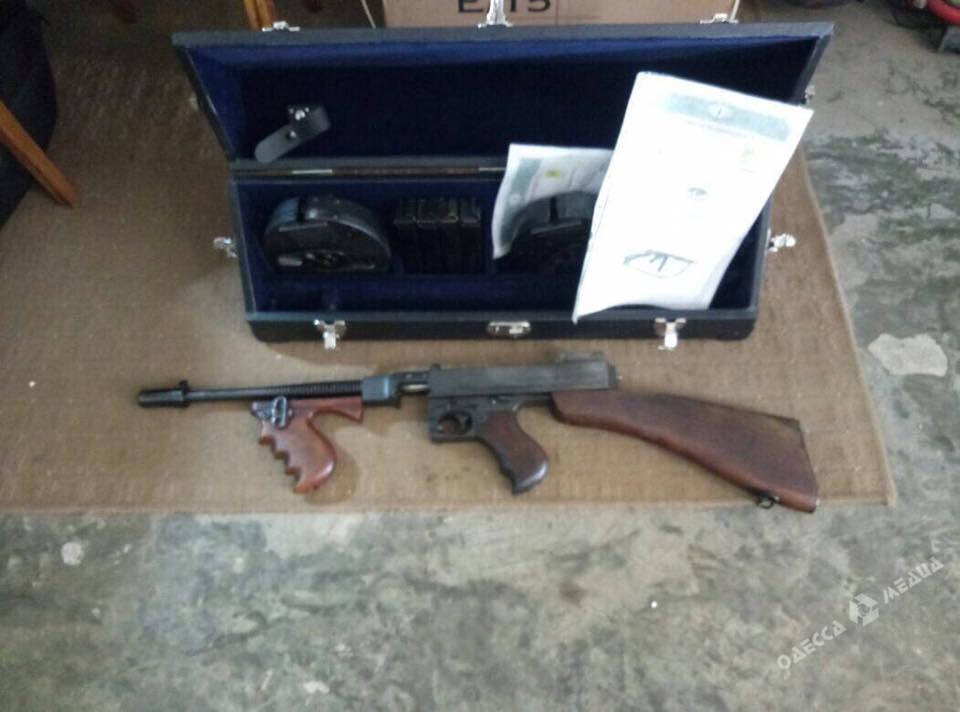 СБУ предотвратила контрабанду снайперского истрелкового оружия из Украинского государства