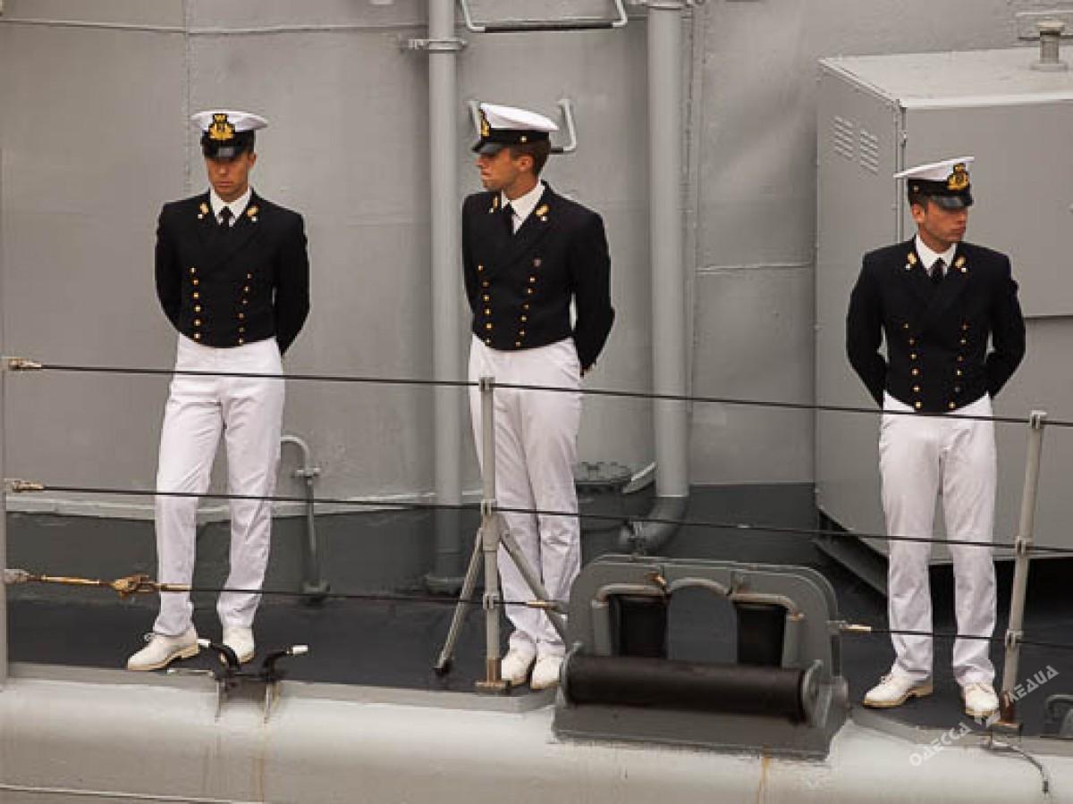 Итальянский эсминец ожидают вУкраинском государстве
