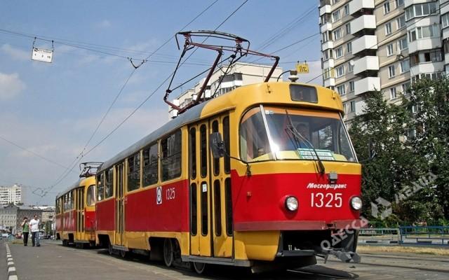 Движение трамваев напоселок Котовского будет временно остановлено