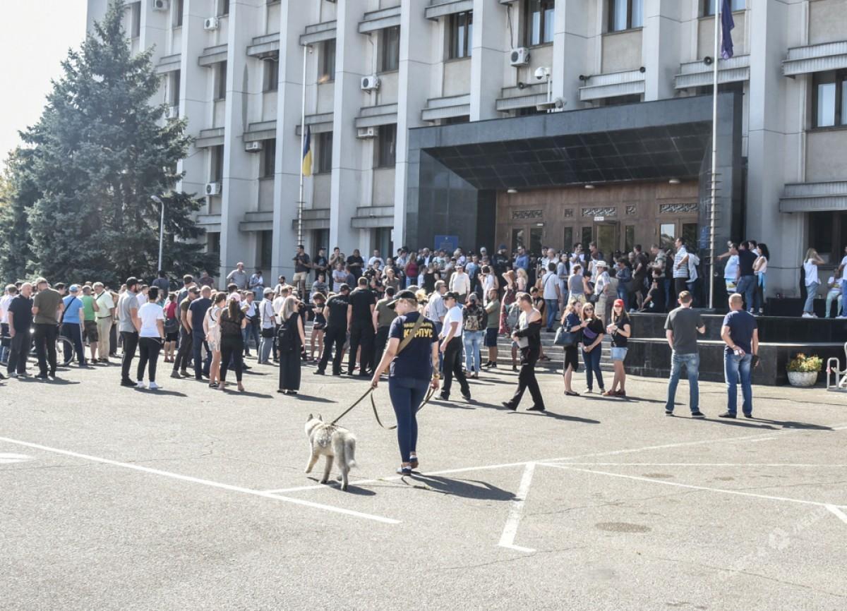 Вдетском лагере Одессы вовремя пожара была отключена сигнализация