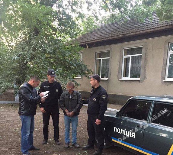 ВОдесской области схвачен подозреваемый вубийстве девочки-подростка