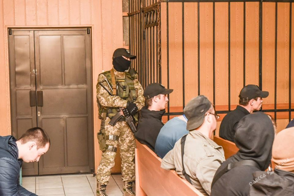 ВОдессе фигурант «дела 2мая» житель россии Мефедов пытался выйти насвободу