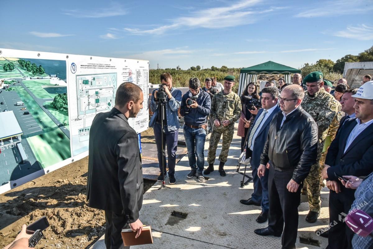 Паромная переправа под Одессой соединит государство Украину с европейским союзом весной 2018 года