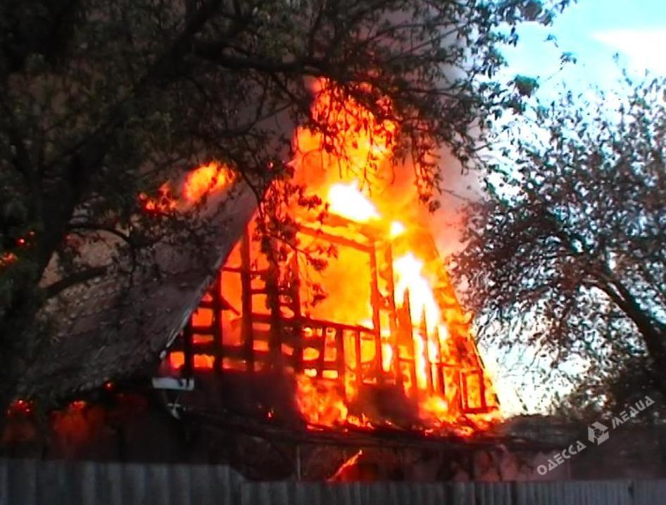 ВОдесской области впожаре умер человек